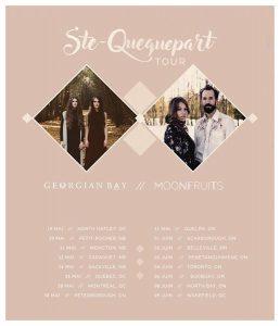 Ste-Quequepart Tour Poster
